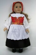 Norwegian Norway National Costume Dress Doll Clothes For 18 American Girl (Debs)