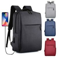 USB Laptop Backpack Anti-theft School Men Travel Daypack Women Mochila Bag