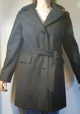 NEW London Fog Women's Wool Blend Hooded Walker Coat Size Small