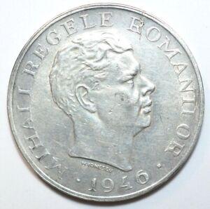 ROMANIA, 100000 LEI 1946, SILVER  #3238#