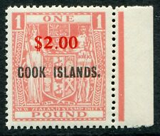 Cook Is. 1967 $2/£1 pink SG 219 unmounted mint (cat. £65)