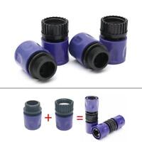 2pcs Set 3/8'' Garden Male Quick Connector Water Hose Pipe Fitting Adapter