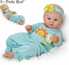 Ashton Drake Pocket Full Of Sunshine Lifelike Doll Newborn Baby Girl