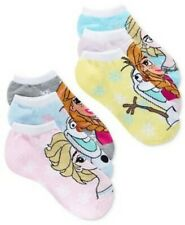 FROZEN Disney Womens No Show Socks PLANET SOCKS Pink Marl 6 PAIR $12 - NWT