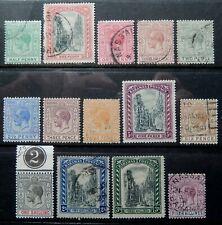 Bahamas Scott # 70-83, Part Set of 14, Mixed Mint and Used