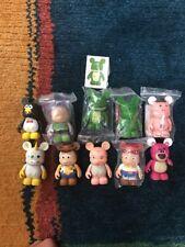 Disney Pixar Vinylmation Toy Story Lot Of 10 Chaser Dr Pork Chop Woody Buzz Etc