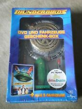 Thunderbird DVD + alle 5 Fahrzeuge Geschenk Box von 2005 ungeöffnet / sealed