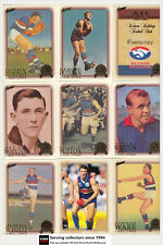 AFL Hall Of Fame Trading Card Club Card Collection(1996-2012) W. Bulldogs (10)
