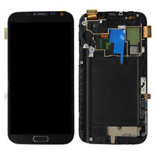LCD Assembly w/ Touch Screen+Middle Frame for Samsung Galaxy Note II 2 N7105 LTE