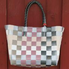 Einkaufskorb ICE BAG 5010 32 Witzgall Shopper Einkaufstasche grau altrosa weiß