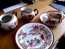 Tee Service- Japan Motive  Rot - Gold, 20 Teile