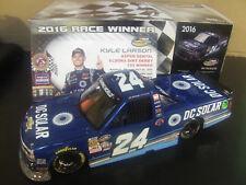 Kyle Larson 2016 ELDORA WIN RACED DC Solar 1/24 Silverado Truck