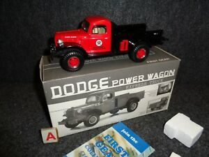 TEXACO COLWELL 1946 DODGE POWER WAGON EXPRESS 1949 PICKUP TRUCK 1st GEAR 18-2482