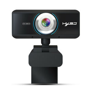 HXSJ S4  Pro USB 1080p Webcam Manual  Built-In Microphone For PC T3A6