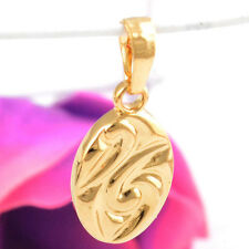 Onsale Simple Gold Filled Oval Shaped Charming Pendant Popular Gift DIY Jewelry