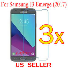3x Clear Screen Protector Guard Cover Film For Samsung Galaxy J3 Emerge (2017)