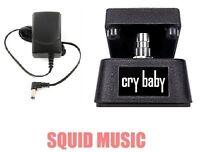 Jim Dunlop Cry Baby Mini Wah Pedal CBM95 Half Size ( FREE ADAPTER POWER SUPPLY )