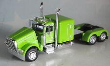 """MINT GREEN PETERBILT 389 63""""  FLATTOP DAY CAB OPTION 1/64 DCP DIECAST 33650"""