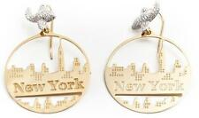 Orecchini Misis OR08403 ARGENTO PLACCATO ORO NEW YORK SILVER GOLD EARRINGS