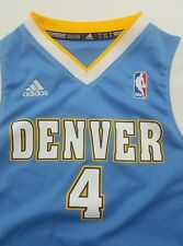 kenyon Martin basketball jersey Denver Nuggets Number 4 Adidas Size Small Youth