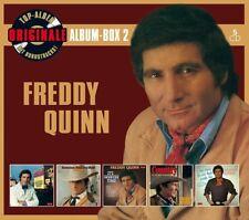 Freddy Quinn-originaux Album-Box 2 (Deluxe Edition) 5 CD NEUF