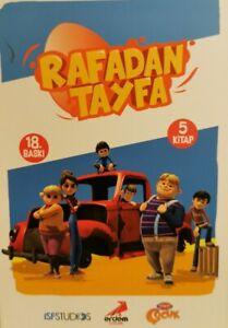Rafadan Tayfa Dizisi 5 Kitap Takim Aysenur Gönen (Yeni Türkce Kitap)