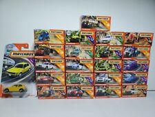 NICE LOT OF 22 MATCHBOX POWER GRABS ~ ALL DIFFERENT ~ BANANA, ALFA ROMEO, CIVIC