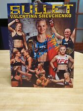 Valentina Shevchenko Autograph Photo