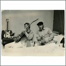 Brian Wilson & Mike Love 1960s The Beach Boys Vintage Photograph (Germany)