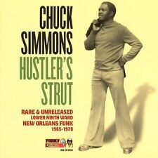 Hustler's Strut by Chuck Simmons (CD, Feb-2005, Funky Delicacies) sealed