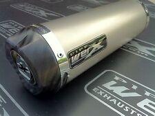 Kawasaki ZX6R 2009 2010 2011+ Titanium GP, Carbon Outlet, Road Legal Exhaust Can