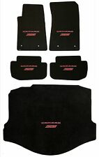 Lloyd Mats CLASSIC LOOP 5PC FLOOR MAT SET RED Camaro SS Logo on each mat *COUPE*