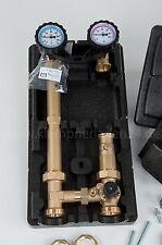 Pumpengruppe mit Mischer und Mischermotor, Mischergruppe ohne Pumpe DN25