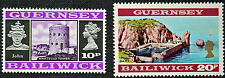 Timbres GUERNESEY - Stamp GUERNSEY - Yvert et Tellier n°46 et 47 n** (cyn2)
