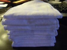 10 pc. Reusable Cotton Diaper insert liner With Zorb Birdseye Cloth Handmade USA