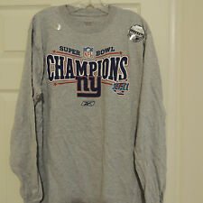 Nfl 2008 Super Bowl New York Giants Football Shirt New M