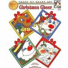 Christmas Cheer Cross Stitch Chart/Pattern - 4 Whimsical Designs