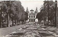 Monaco Postcard - Monte-Carlo - Les Jardins - Le Casino   R293