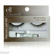 e.l.f. Natural Eyelash Kit your choice of Black or Brown Set of 2 Elf Free S&H