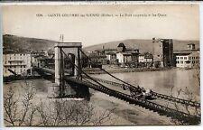CP 69 Rhône - Sainte-Colombe-les-Vienne - Le Pont suspendu et les Quais