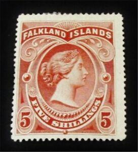 nystamps British Falkland Islands Stamp # 21 Mint OG H $265 J15y2570