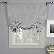 Soho Triple Pass Thermal Insulated Blackout Curtain Rod Pocket Tie Shade Silver