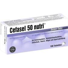 CEFASEL 50 nutri Selen-Tabs 100 St PZN 4522540