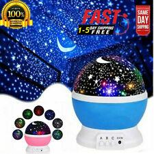 LED USB Star Light Sleep Sleep Romantic Starry Cosmos Night Sky Projector Lamps