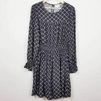 SEED HERITAGE | Womens Diamond Print Dress  [ Size  AU 10 ]