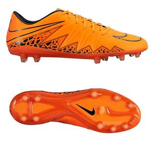 Nike Hypervenom Phatal II FG Herren Fußballschuhe Full Orange Naturrasen NEU OVP