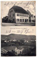 ROHRDORF OA Horb / Kaufladen Ernst Sitzler & Tuchfabrik * AK um 1910