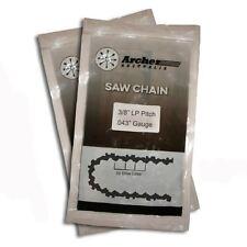 "2 x Genuine Archer Chainsaw Saw Chain Fits Bosch AKE35 AKE35A AKE35S 14"""