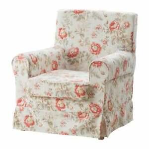 IKEA Ektorp Byvik Jennylund Armchair Cover Vintage Floral Shabby Cottage Chic
