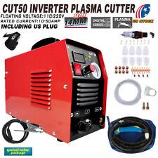 Goplus CUT-50 Electric Digital Plasma Cutter Inverter 50AMP 110-220V - Black
